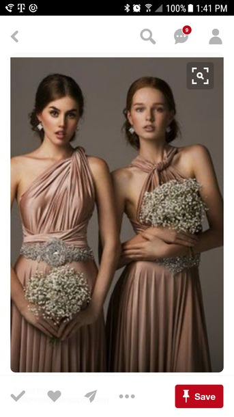 dress bridesmaid dress long