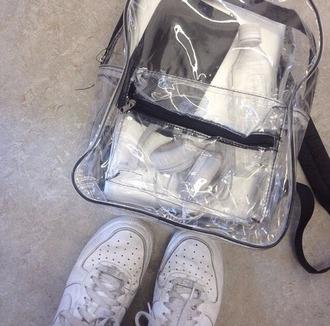 bag clear bag backpack school bag