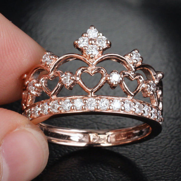 jewels ring crown princess ring crown ring