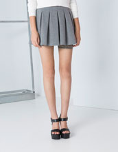 Bershka United Kingdom - Bershka neoprene skirt