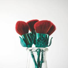 Authentic Storybook Cosmetics What's in a Name Rose Brushes™