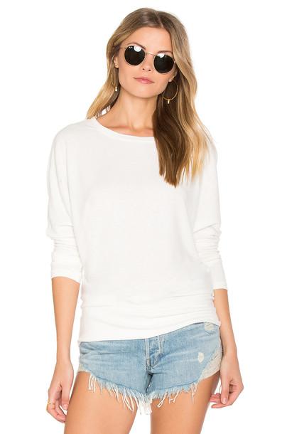 cupcakes and cashmere sweatshirt white sweater