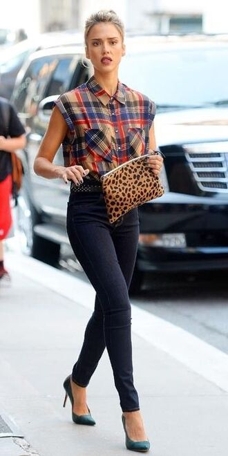 top skinny pants jessica alba fashion heels on gasoline