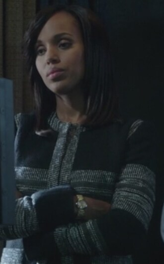 jacket stripe jacket scandal kerry washington olivia pope