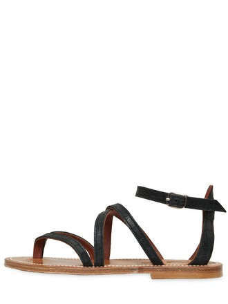 sandals leather sandals leather black shoes