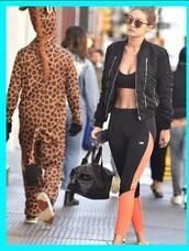 997e3d6221d23 Gigi Hadid Leather Pants - Shop for Gigi Hadid Leather Pants on ...
