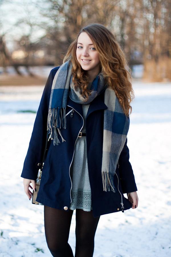 kolorowa dusza coat dress scarf bag jewels shoes