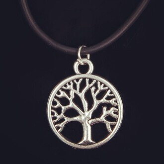 jeans jewels choker necklace tree of life jewelery necklace