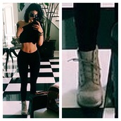 kylie jenner,boots,booties