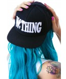 Bad Acid Nothing Snapback Cap | Dolls Kill