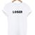 Loser T-shirt - StyleCotton