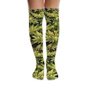 socks,Odd Sox,knee high socks,knee high,knee length,over the knee,weed,weed socks,marijuana,marijuana socks,pot leaf,pot,style,fashion,dope,dope wishlist,trendy