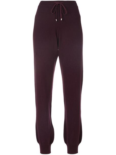Barrie women purple pink pants
