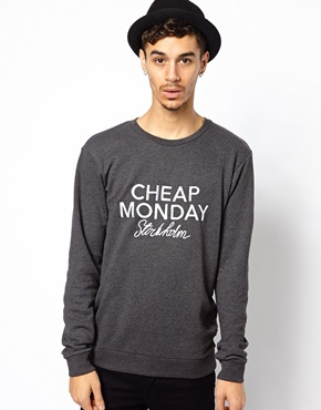 Cheap Monday | Cheap Monday Sweat with Embroidery at ASOS