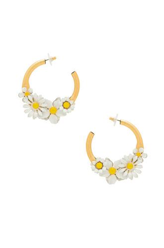 statement earrings statement earrings white jewels
