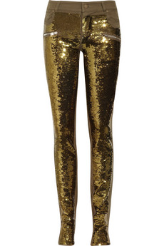 Discount markus lupfer deluxe sequined stretch