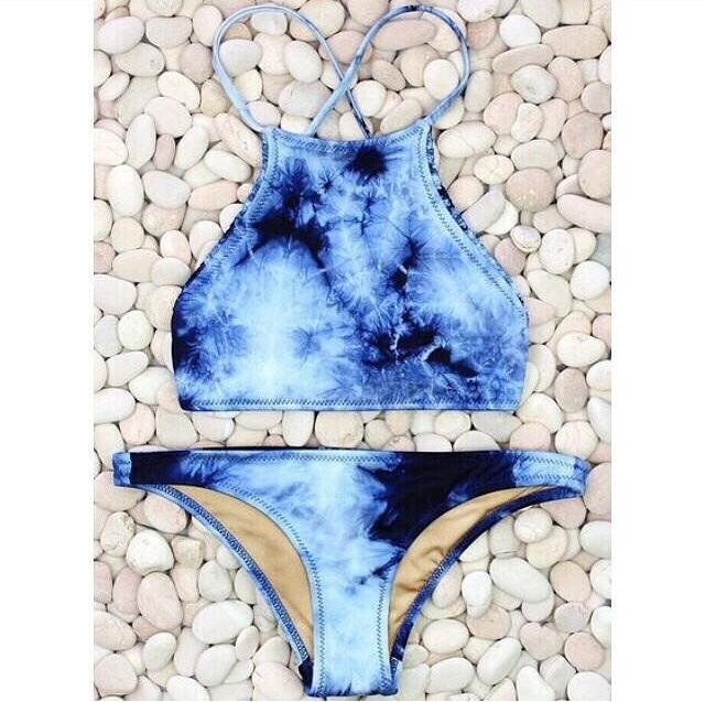 Pre order/ sarah tie dye bikini by designs by outcast
