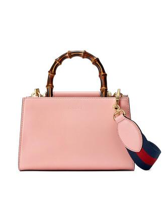 women bag leather purple pink