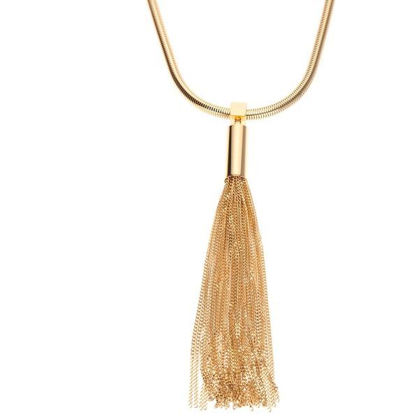 Saint Laurent Tassel Necklace - Yves Saint Laurent - Polyvore