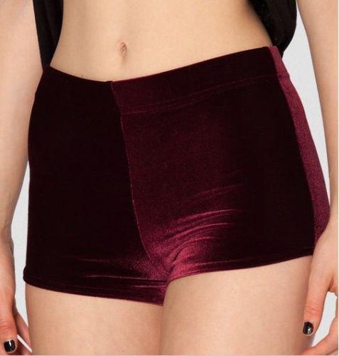 Retro velvet mini shorts · nouveau craze · online store powered by storenvy