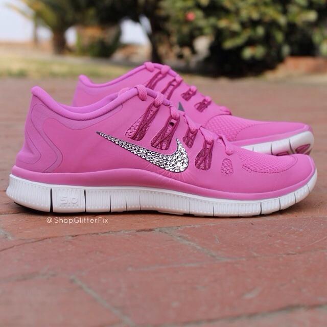 Women's Nike Free Run 5.0 - Pink Violet  / Glitterfix