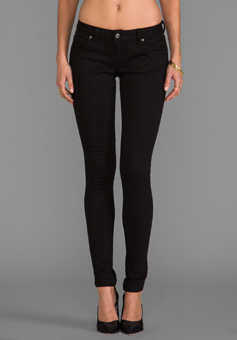 ANINE BING Classic Skinny Jean in Black at Revolve Clothing - Free Shipping!