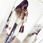 coat,fur,mantel,fashion