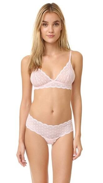 bra sweet soft pink underwear