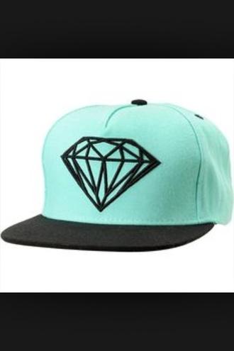 flat turquoise diamonds