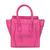 Newest Celine Boston Smile Leather Pink Bag 11 On Sale.