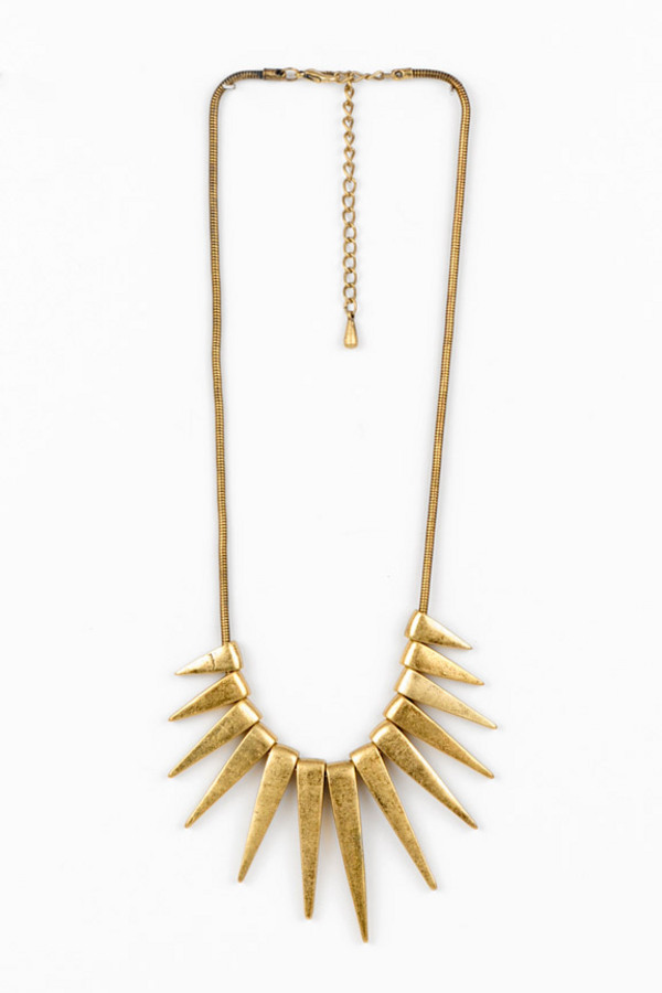 Spiked Necklace - Tobi