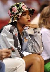 jacket,rihanna,celebrity,hat,hair accessory