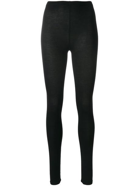 Majestic Filatures leggings high women spandex black pants