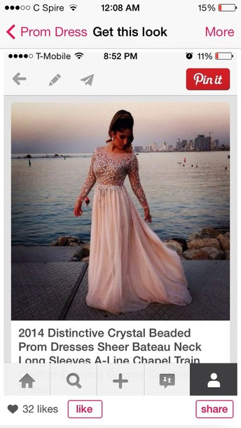 dress shear crystal beaded