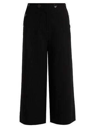 culottes sailor nerd black pants