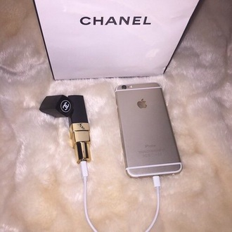 home accessory chanel phone usb charging phone cover