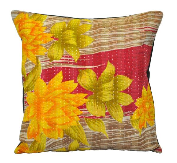 Brilliant Bohemian Sofa Couch Pillows Indian Kantha Throw Pillows Bed Pdpeps Interior Chair Design Pdpepsorg