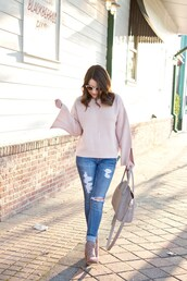 champagne&citylights,blogger,sweater,jeans,bag,jewels,shoes