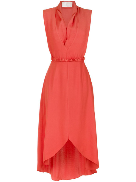 Lilly Sarti dress midi dress women midi red