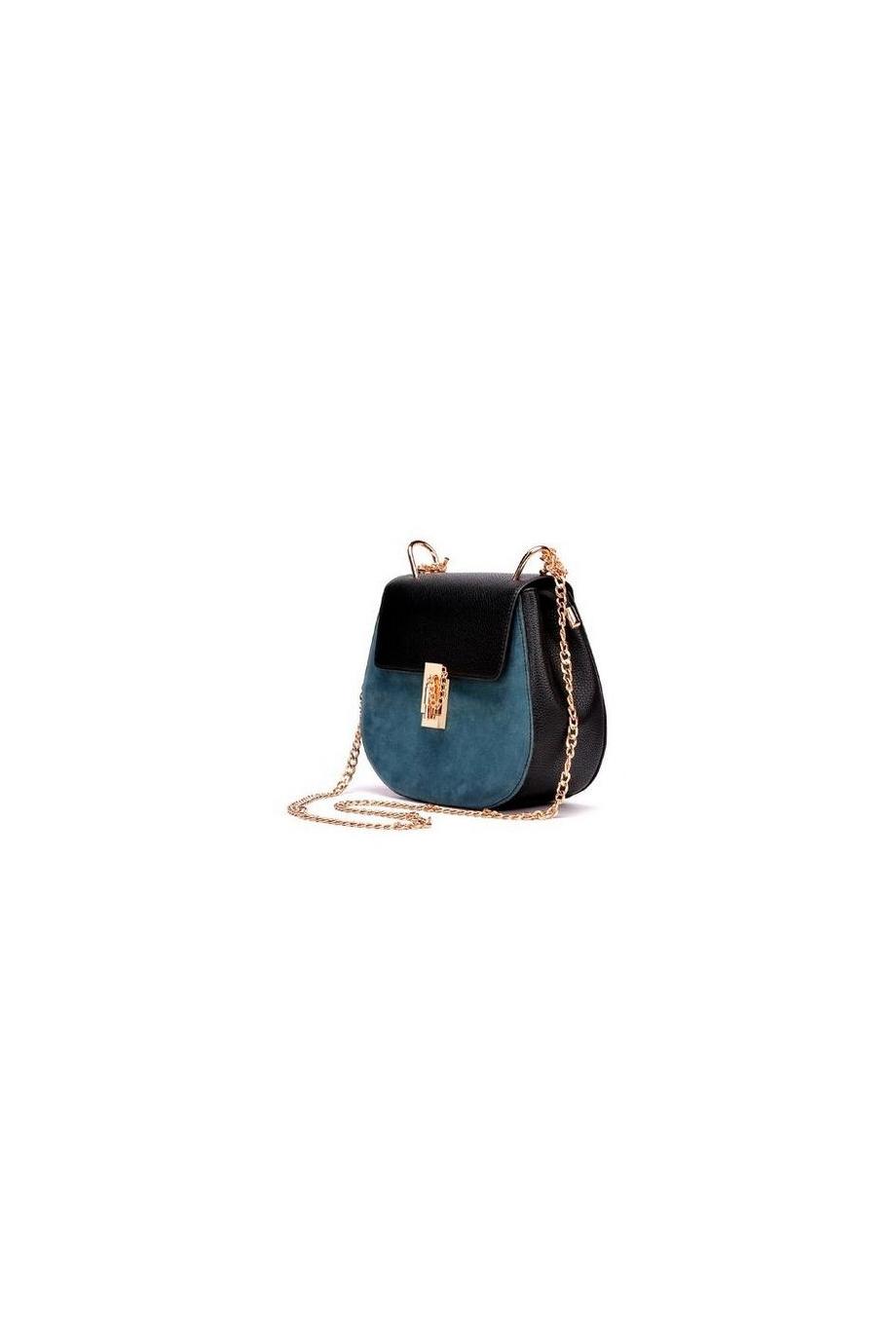 Calia metal lock shoulder bag
