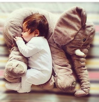 pillow cuddle baby home decor elephant kids fashion love stuffed animal