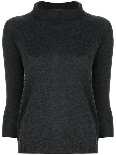 Max Mara sweater women silk grey