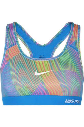 bra sports bra classic blue underwear