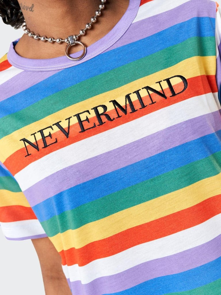 Nevermind Striped T-shirt