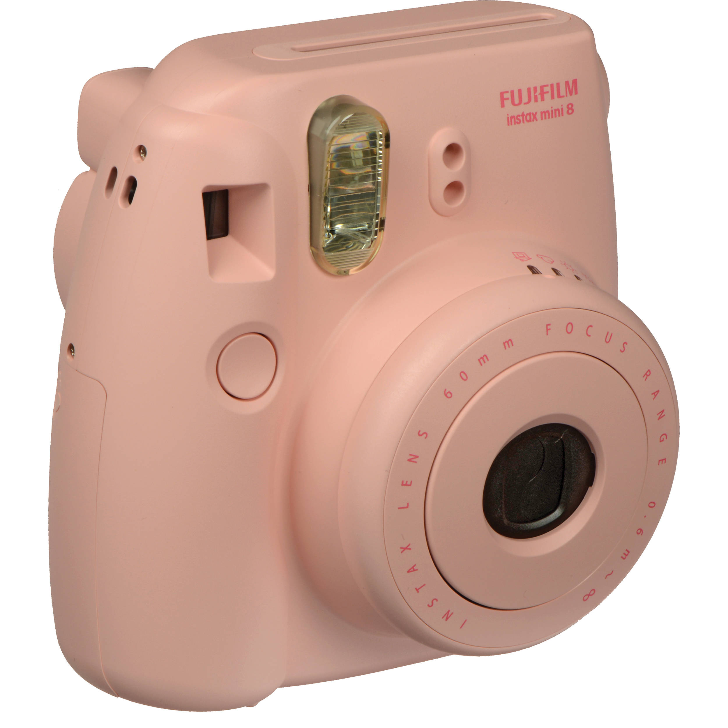 INSTAX Mini 8 Instant Film Camera (Pink) 16273415 B&H