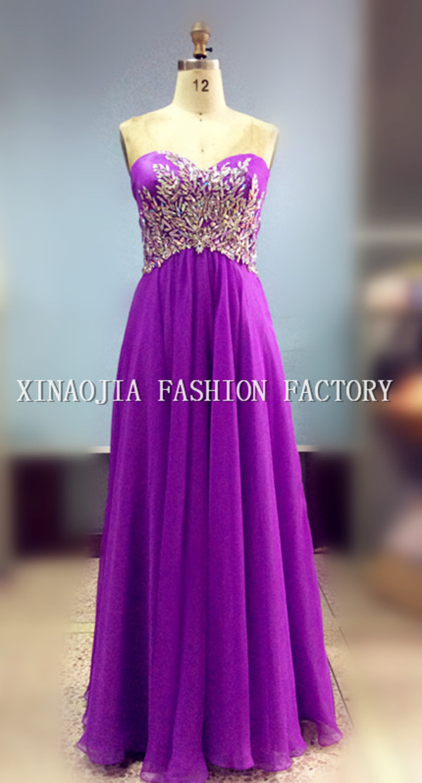 long prom dress evening dress empire strapless prom dress long evening dress