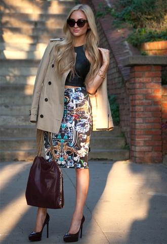 angel food t-shirt skirt coat shoes bag sunglasses jewels patent leather bag