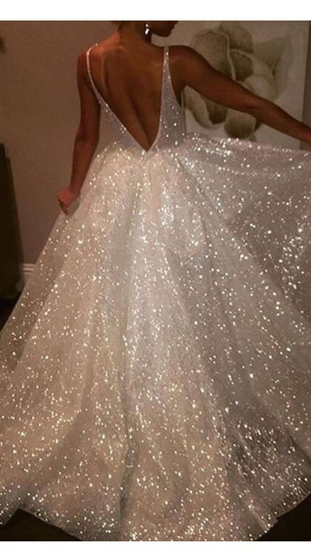 dress sparkle sparkly prom dress