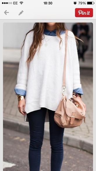 jumper fashion oversized sweater