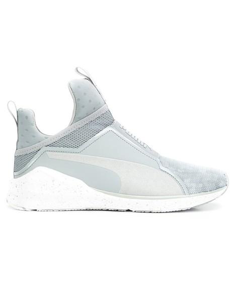 puma women sneakers grey shoes